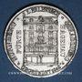 Monnaies Strasbourg. J. L. Erlenbach (lingerie, confection). Médaille zinc nickelé. 29,2 mm, tranche cannelée