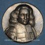 Monnaies Strasbourg. Marc (Marcus) Otto, diplomate et philanthrope (1600-74). Vers 1925. Médaille coulée arg.