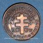 Monnaies Afrique Equatoriale Française. 50 centimes 1943SA. Prétoria