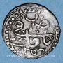 Monnaies Algérie. Abd-el-Kader, émir (1248-1264H = 1832-1847). 5 aspres 1256H (= 1840)