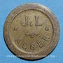 Monnaies Algérie. Alger. J. L. 30 centimes