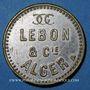 Monnaies Algérie, Alger, Lebon & Cie (gaz, électricité, coke), sans valeur