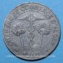 Monnaies Algérie, Chambre de Commerce d'Alger, 10 cent 1916 zinc. Faux pour servir
