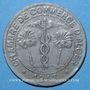 Monnaies Algérie, Chambre de Commerce d'Alger, 10 cent 1917 zinc