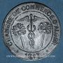 Monnaies Algérie. Chambre de Commerce d'Alger. 10 centimes 1917. Zinc
