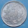 Monnaies Algérie, Chambre de Commerce d'Alger, 5 cent 1921 aluminium