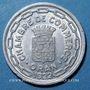 Monnaies Algérie. Chambre de Commerce d'Oran. 25 centimes 1922