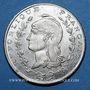 Monnaies Algérie, Chambre de Commerce de Bône, 1 franc n.d., essai en maillechort
