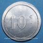 Monnaies Algérie, Chambre de Commerce de Bône, 10 cent n. d.