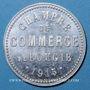 Monnaies Algérie, Chambre de Commerce de Bougie, 10 cent 1915