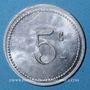 Monnaies Algérie, Chambre de Commerce de Bougie, 5 cent 1915