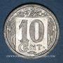 Monnaies Algérie. Chambre de Commerce de Constantine. 10 cent