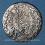 Monnaies Algérie. Mahmoud II (1223-1255H = 1808-1839). 1/3 boudjou 1245H (= 1830). Alger