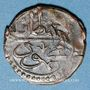 Monnaies Algérie. Mahmoud II (1223-1255H = 1808-1839). 1 kharoub 1247H (= 1832). Constantine