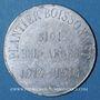 Monnaies Algérie. Sidi-Bel-Abbès. Horlogerie Plantier Boissonnet. 10 centimes 1914-1916