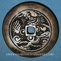 Monnaies Annam. Hien Tông (1740-86) - ère Canh Hung (1740-1786). Grande monnaie de présentation. 41,5 mm