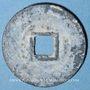 Monnaies Annam, Monnayages privés (XVII-XVIIIe), inscriptions monétaires chinoises (1746-74), sapèque