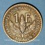 Monnaies Cameroun, Territoires sous mandat français (1919-45), 1 franc 1925