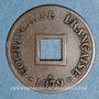 Monnaies Cochinchine. 1 sapèque 1879 A. Ancre