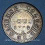 Monnaies Guyane. Louis XVI (1774-1793). 2 sous, type 2, 1789A