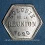 Monnaies Ile de la Réunion. 10 centimes 1920