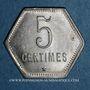 Monnaies Ile de la Réunion. 5 centimes 1920