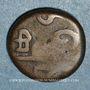 Monnaies Indes. Pondichéry. Louis XV (1715-1774). Doudou n. d.