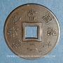 Monnaies Indochine française. 1 sapèque 1893 A