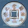 Monnaies Indochine française. 1 sapèque 1902A
