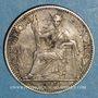 Monnaies Indochine française. 10 cent 1900 A