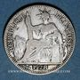 Monnaies Indochine française. 10 cent 1928 A