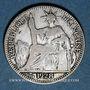Monnaies Indochine française, 10 cent 1928A