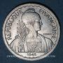 Monnaies Indochine française. 20 cent 1945 C. Castelsarrazin