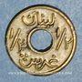 Monnaies Liban. 1/2 piastre n. d. (1942-45)