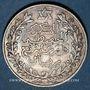 Monnaies Maroc. Moulay Hafid (1326-1330H = 1908-1912). 2 1/2 dirhams 1329H, Paris
