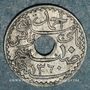 Monnaies Tunisie. Ahmed II, bey (1348-1361H = 1929-1942). 10 centimes 1941