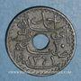 Monnaies Tunisie. Ahmed II, bey (1348-1361H = 1929-1942). 20 centimes 1942