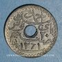 Monnaies Tunisie. Ahmed II, bey (1348-1361H = 1929-1942). 20 centimes 1942
