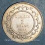 Monnaies Tunisie, Ali III, bey (1299-1320H = 1882-1902). 1 franc 1308H (= 1891)