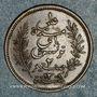 Monnaies Tunisie. Ali III, bey (1299-1320H = 1882-1902). 2 centimes 1308H (= 1891)