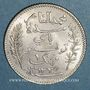 Monnaies Tunisie. Mohammed En-Naceur (1324-1340H). 1 franc 1917A