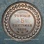 Monnaies Tunisie. Mohammed En-Naceur (1324-1340H). 5 centimes 1916A