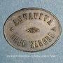 Monnaies Tunisie. Oued Zargua.  Aquaviva. 10 centimes. n. d.