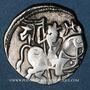 Monnaies Afghanistan. Les Sahides. Samanta Deva (vers 850-1000). Jital. Ohind