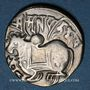 Monnaies Afghanistan. Les Sahides. Spalapati Deva (vers 750-900). Jital. Kaboul
