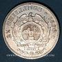 Monnaies Afrique du Sud. République. 2 1/2 shilling 1896