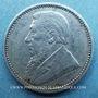 Monnaies Afrique du Sud. République. 6 pence 1896