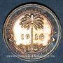 Monnaies Afrique Occidentale britannique. Georges V (1910-1936). 2 shilling 1916H. Heaton