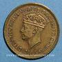 Monnaies Afrique Occidentale britannique. Georges VI (1936-1952). 1 shilling 1951H. Heaton