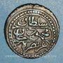 Monnaies Algérie. Mahmoud II (1223-1255H = 1808-1839). 5 aspres 1244H (= 1828). Alger